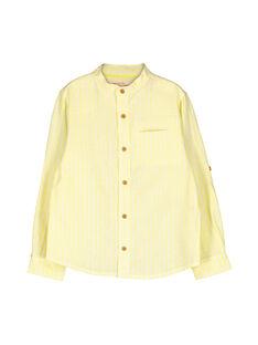 Boys' fancy shirt FOPOCHEM3 / 19S902C3CHM104