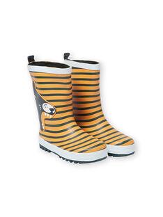 Yellow RAIN BOOTS KGBPFELIN / 20XK3663D0C010