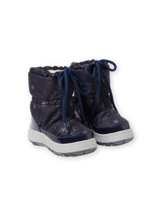 Navy Mountain boots GBFMONTMEP / 19WK37W2D3N070