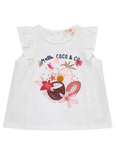 Off white T-shirt JIDUTI / 20SG09O1TMC001
