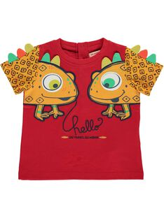 Baby boys' short-sleeved T-shirt CUGAUTI2 / 18SG10L2TMCF513