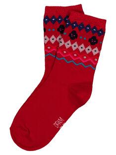 Red Socks GYATRICHO / 19WI01J1SOQF512