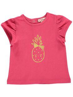 Baby girls' short-sleeved T-shirt CIJOTI2 / 18SG09R2TMCF503