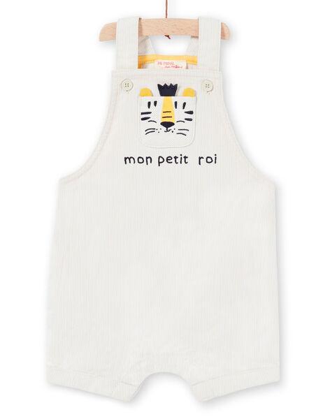 Beige overalls baby boy LUBALSAC / 21SG10O1SAC632