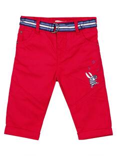 Red pants GUTRIPAN1 / 19WG10J2PANF504