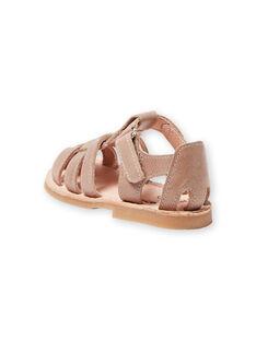 Baby boy taupe sandals LBGSANDTEO / 21KK3857D0E803