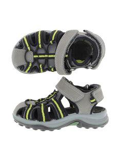 Boys' leather sandals CGSANDIMA / 18SK36WBD0E940
