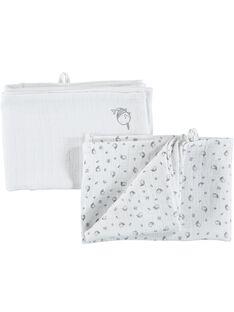 Pack of babies' muslin cloths CACMLANGE1 / 18SF42B1LAN000