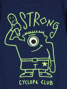 Boys' long-sleeved T-shirt FONETEE2 / 19S902B1TML070