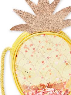 Pineapple yellow pineapple shoulder bag child girl LYAJAUBAG / 21SI01O1BES116
