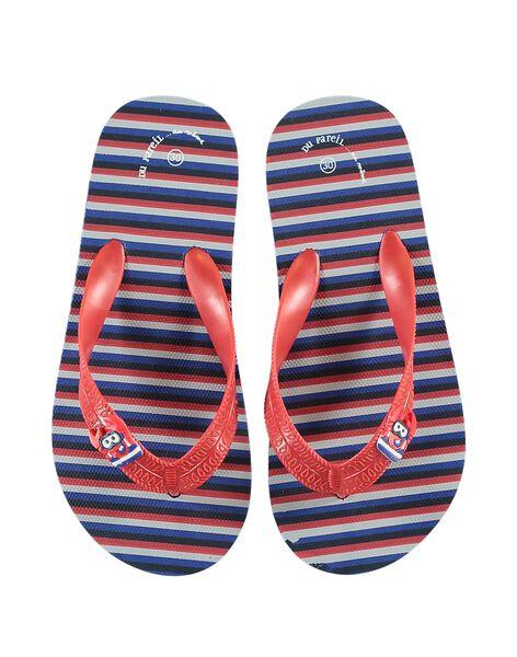 Multicolor Beach flip flops JGTONGMER / 20SK36Z1D01099