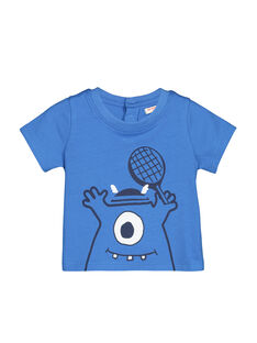Baby boys' short-sleeved T-shirt FUJOTI4 / 19SG1034TMC201