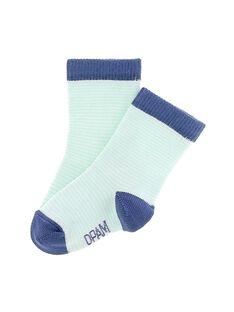 Baby boys' mid length socks CYUJOCHO5B / 18SI10R8SOQ099