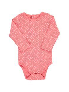 Girls' long-sleeved bodysuit CEFIBODGLI / 18SH13T4BDL099