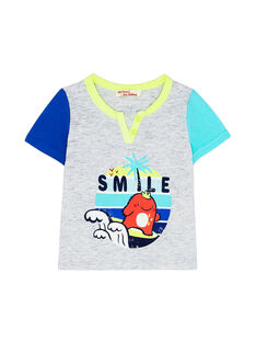 Grey T-shirt JUQUATI2 / 20SG10R2TMCJ906
