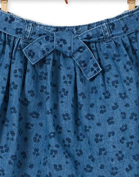Cotton leopard print denim skirt LABLEJUP2 / 21S901J2JUPP274