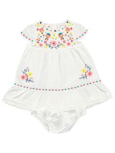 Baby girls' dress CIFRIROB4 / 18SG09H3ROB000