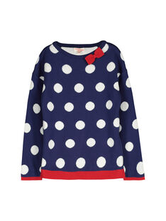 Girls' fancy sweater FACOPULL2 / 19S90182PUL703