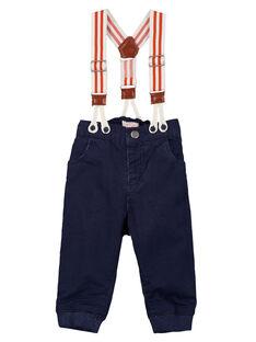 Navy trousers GUSANPAN1 / 19WG10C1PAN070