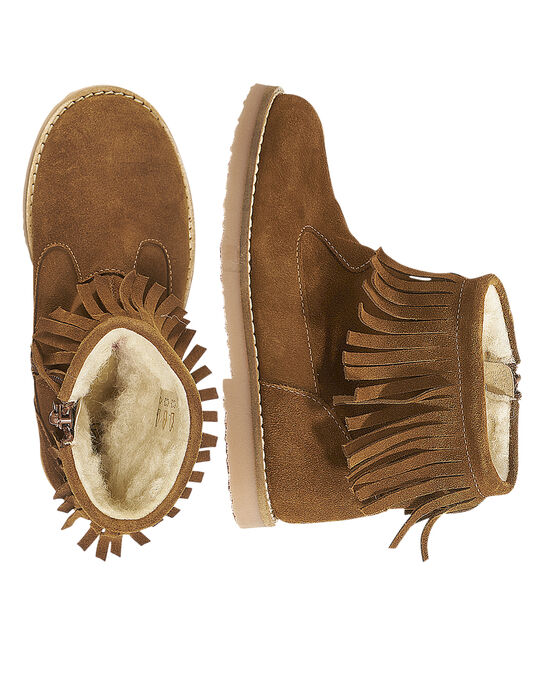 Light brown Boots GFBOOTFRAN / 19WK35X3D0D804