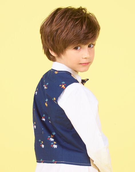 Beige suit vest - Child boy LOJAUGIL / 21S902O1GSMA014