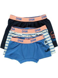 Pack of boys' boxer shorts CEGOBOXHIP / 18SH12T1BOX201