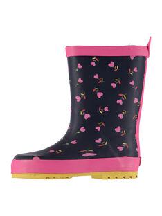 Navy Rain boots FFBPCOEUR / 19SK35X2D0C070