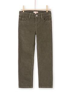 Green PANTS MOJOPAVEL2 / 21W90214PANG631