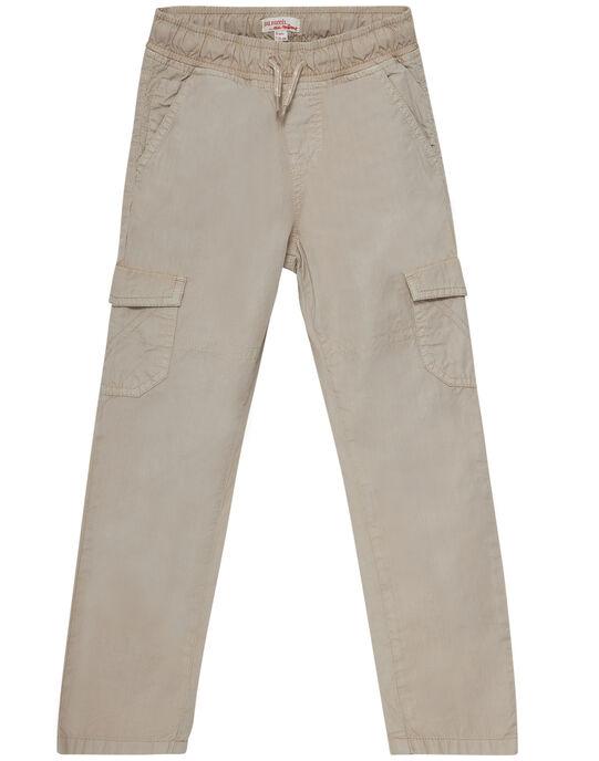 Light beige Pants JOJOPAMAT4 / 20S90253D2B808