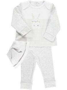 Unisex babies' 3 piece set DOU1ENS2 / 18WF0512ENS000