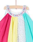 Baby girl's colorful patchwork dress JIMARROB2 / 20SG09P2ROB000