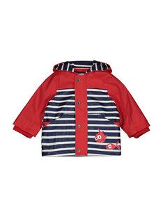 Baby boys' hooded raincoat FUGROIMP / 19SG10X1IMPF505