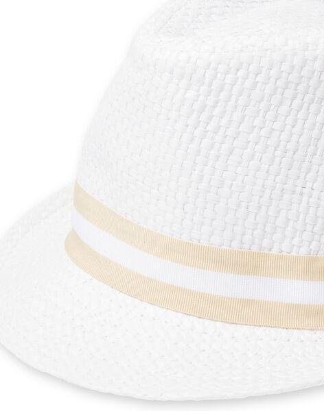 White baby boy hat LYUBALCHA / 21SI10O1CHA000