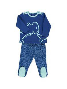 electric blue Pajamas CEGUPYJMER / 18SH1451PYJ217