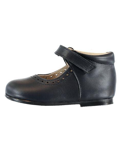Navy Salome shoes GBFBABPERF1 / 19WK37B1D13070