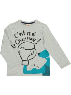 Boys' long-sleeved T-shirt DOTRITEE2 / 18W902D2TMLJ908