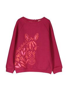 Girls' mask sweatshirt FABASWEA / 19S90161SWM304