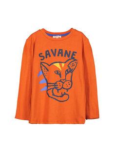 Spicy orange Longsleeve T-SHIRT FOJOTEE2 / 19S90232D32409