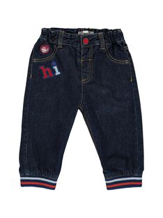 Baby boys' sportswear jeans CUDEJEAN / 18SG10F1JEA704
