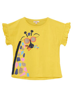 Yellow T-shirt JATROTI1 / 20S901F2TMCB102