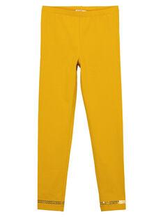 Yellow Leggings GYAJOLEG4 / 19WI0143D26B107