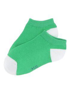 Boys' ankle socks CYOJOCHO11B / 18SI02SASOQ607