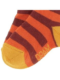 Baby boys' striped socks CYUJOCHO10B / 18SI10S8SOQ099