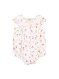 Baby girls' romper FICUBAR / 19SG09N1BAR000