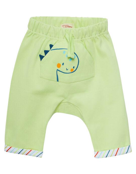 Lemon yellow pants JUBOPAN / 20SG10H1PAN108