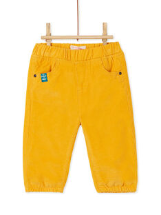 Yellow PANTS KUJOPAN2 / 20WG1052PANB106