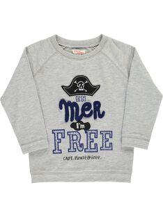 Boys' fleece sweatshirt COBENSWE / 18S902G1SWEJ912