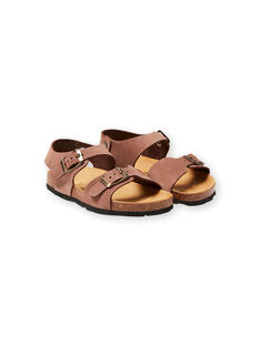 Brown SANDAL LGNUMARRON / 21KK3657D0E802