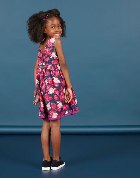 Girl's reversible sleeveless dress MAPAROB1 / 21W901H1ROBC205