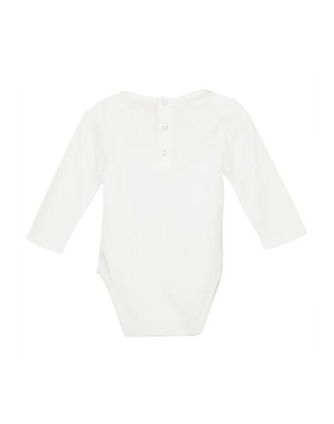 Boys' long-sleeved bodysuit FEGABODTYP / 19SH1451BDL000